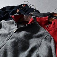 BEFE 限量 歐美高品質 簡約小刺繡 立領長袖 男女針織外套0.63KG
