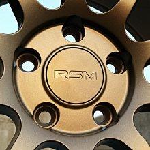 利文輪業 RSM RE01 17吋鋁圈 4孔100 4孔114.3 5孔100 5孔108 5孔114.3 古銅 8J