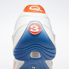 =CodE= REEBOK QUESTION LOW 皮革籃球鞋(全白橘)FX4999 果凍底 戰神 IVERSON 男