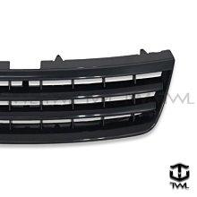 《※台灣之光※》全新 VW Touareg 拓瑞格 03 04 05 06年專用改無LOGO樣式全黑水箱罩 台灣製造