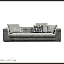 DD 國際時尚精品傢俱-燈飾Minotti Blazer(復刻版)三人布沙發2020新品
