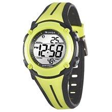 JAGA冷光電子錶 超人氣上班族 學生錶 小錶 運動錶 百米防水 按鍵音可關 附保固卡【↘420】M1112