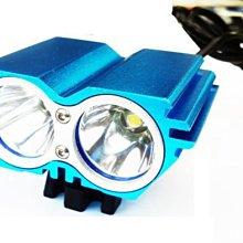 史上最輕巧貓頭鷹 CREE XM-L雙L2 U2 車燈.頭燈(雙用) 強光2400流明登山/露營/工作/釣魚/夜騎