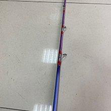 ☆老簡工坊☆超敏感手工一支釣老鼠尾筏竿C-601ML~旋轉珠~右手持竿~左手捲