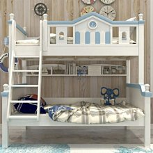 100%全實木上下床 青少年床台 兒童床 單人子母床 兒童雙層床 造型床