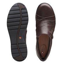 【英國代購】⑤ Clarks Un Adorn Loop Dark Brown Leather 售價4580元