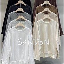 SaNDoN x 自選單品 秋季新品 華夫格材質可以搭配整套大學長袖TEE SLY 210804