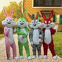 兔子卡通服裝卡通人偶人偶道具行走人偶卡通服飾兔八哥人偶服裝潮
