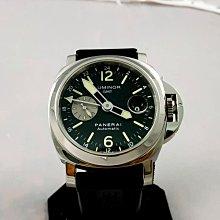 順利當舖  Panerai/沛納海  稀有44MM大錶徑原裝GMT雙時區不鏽鋼自動男錶