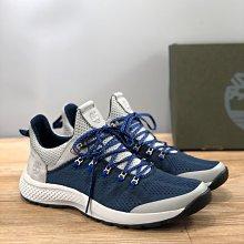 正品Timberland添柏嵐男鞋新款戶外休閑運動鞋男士系帶網面輕便透氣跑步鞋A1013