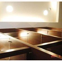 桃園室內裝潢的天花板LED崁燈、間接照明T5層板燈、設計施工安裝