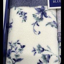 全新日本OHARA頂級毛巾浴巾 2*小毛巾 踏墊 共四件 精選Rainier Blue高級禮品組