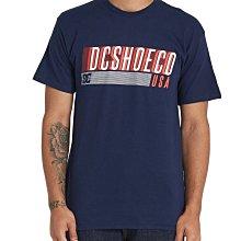 DC Shoes 短袖T恤【L】【XL】有大尺碼 海軍藍色 MOASHIN ADYZT04517