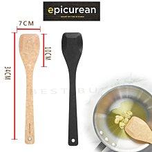 美國 Epicurean 33cm*7cm 刮刀 抹刀 炒鏟 炒菜鏟 顏色隨機出貨(原木色,黑色)030-00701