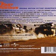 《絕版專賣》玩命關頭 / The Fast And The Furious 電影原聲帶 (歐版)