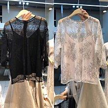 【2A Two】透視蕾絲衫+親膚細肩內搭背心 ⭐️蕾絲罩衫 兩件式『BB00262』