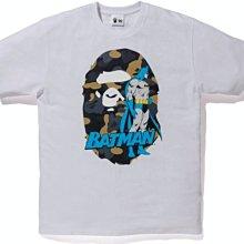 【美國鞋校】預購 BAPE x DC Ape Head Batman Tee