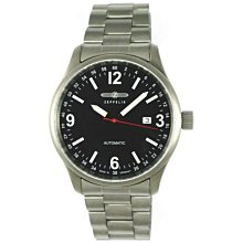(( 國民腕錶 )) 德國 ZEPPELIN 齊柏林 鈦金屬 自動上鍊 ( ETA 2824 ) 機械錶 ( 3670M-2 )