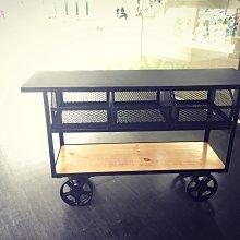 【 一張椅子 】 Loft美式工業/復古做舊//收納櫃/餐櫃/餐車/抽屜櫃