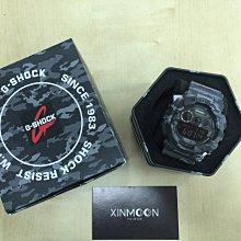 ☾- XinmOOn CASIO 卡西歐 G-SHOCK GD-120CM-8DR 灰色 迷彩 大錶面 GD-120