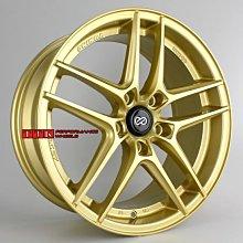 【小茵輪胎舘】ENKEI經銷專門店 新款 《 SC37 》18吋 5孔100~114.3 金黃色【配胎套餐大折扣】