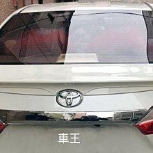 【車王汽車精品百貨】Toyota 豐田 Altis 11代 11.5代 TRD 壓尾翼 改裝尾翼 定風翼 導流板 酷炫款