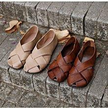 編織鞋 DANDT 文藝手工牛皮大編織鏤空涼鞋(20 SEP)同風格請在賣場搜尋 BOD 或 文藝鞋款