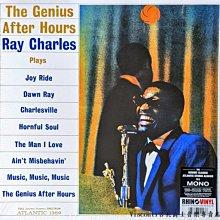 @【RHINO】Ray Charles雷.查爾斯:The Genius After Hours(MONO版黑膠)