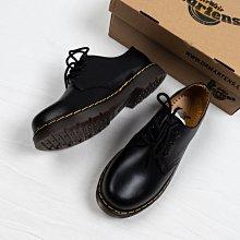 Dr. Martens 1461 3孔 皮鞋 鋼印版 黑色 硬皮 經典款 馬汀靴 男女鞋