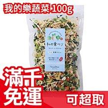 日本原裝 山下屋莊介 我的樂蔬菜 100g 日本國產野菜 乾燥蔬菜 味噌湯添加 高麗菜乾❤JP Plus+