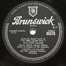 The Eddy Duchin Story《Brazil》78轉 10吋 蟲膠唱片 電木唱片