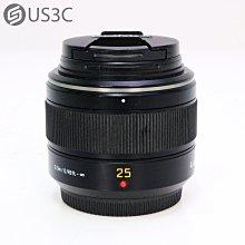 【US3C-小南門店】松下 Panasonic Leica DG Summilux 25mm F1.4 ASPH H-X025 M43 定焦鏡頭 二手鏡頭