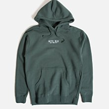 Hotel Blue - Embroidered Logo Pullover Hoodie 墨綠色 帽TEE 現貨販售