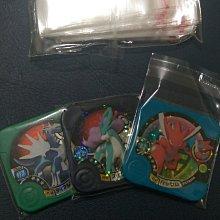 保護套100入 神奇寶貝 tretta 寶可夢 外出好攜帶 收藏冊卡冊 可放12張-60張-卡匣 自黏卡套 保護套