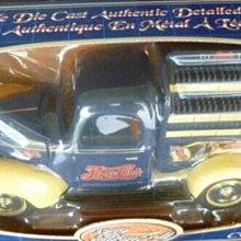 免運費 絕版老貨 稀有 特價 福特汽車官方授權1940 FORD1/18 壓鑄製 百事可樂貨卡車Golden Wheel 收藏 典藏 出清 清倉 非公仔 非手辦