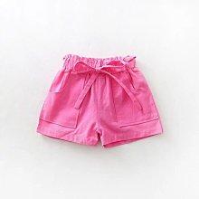 【溜。溜。選物】兒童素色鬆緊口袋休閒短褲