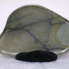 (極稀有) 西瓜石 茶盤 (整顆原石製)
