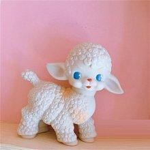 鄉村雜貨小市集*zakka 日雜款復古美式綿羊娃娃擺飾裝飾