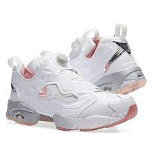 【OB海外連線】Epitome x Reebok pump Fury 白色 粉白 白銀 漆皮 愛心 女鞋 BD5374