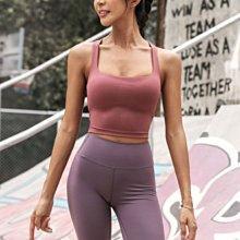 愛運動~新品外穿健身運動胸墊背心/彈力修身性感聚攏防震收復乳排汗速乾/瑜伽綜合訓練運動背心式內衣  R3203