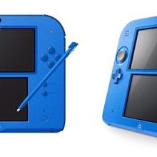 《蘆洲•翔天》任天堂 Nintendo 2DS 主機 日規機 內附原裝電源 藍色 送保護貼