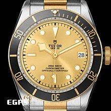 【永久流當品】 TUDOR 帝舵 HERITAGE 半金 潛水錶 M79733N-0004  WLL8352