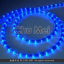 110V-藍光LED三線非霓虹燈50米 - led 燈條 彩虹管 圓三線 非霓虹 水管燈 聖誕燈 管燈 條燈 裝飾燈