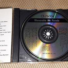 【李歐的音樂】WEETER 1989 MEMORABLE HIT PARADE 西洋老歌精選4 CD 無IFPI 荷蘭版