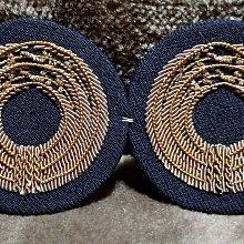 早期海軍繡階章對