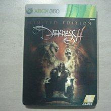 【~嘟嘟電玩屋~】XBOX360 原版光碟 ~  黑暗領域2 The Darkness II 限定鐵盒版