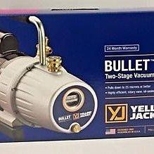《美國黃傑克YELLOW JACKET真空泵浦 93600》二段式 1/2HP馬力 附逆止閥 馬達 真空機 冷氣