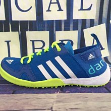 D-BOX Adidas CLIMACOOL BOAT LACE GRAPHIC BOOST 螢光綠 男鞋 戶外 涉水鞋
