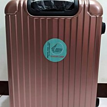 24吋行李箱全新(玫瑰金)