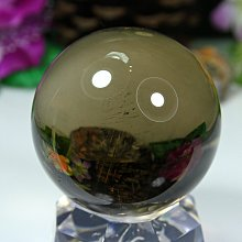 孟宸水晶 = A9006  (100%天然超清透茶水晶球348克)
